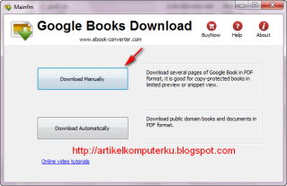 how to download pdf google books