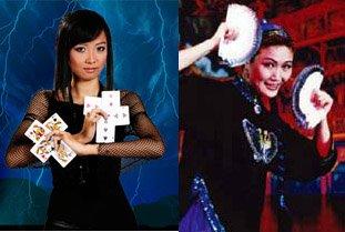 Rizuki dan Juliana Chen